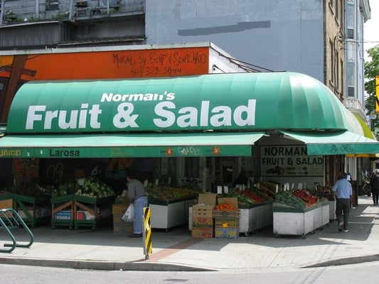 Norman's Fruit and Salad