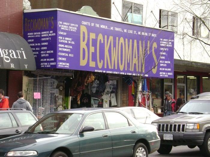 "Beckwoman's Folkcrafts ""n"" Art"