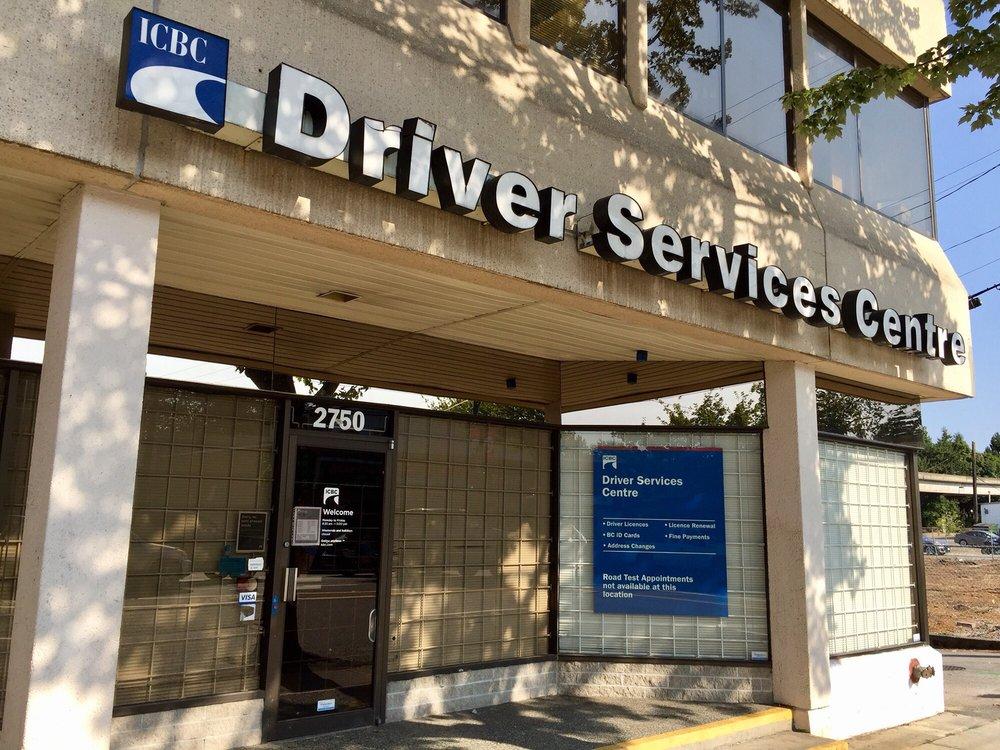ICBC Driver Services Centre